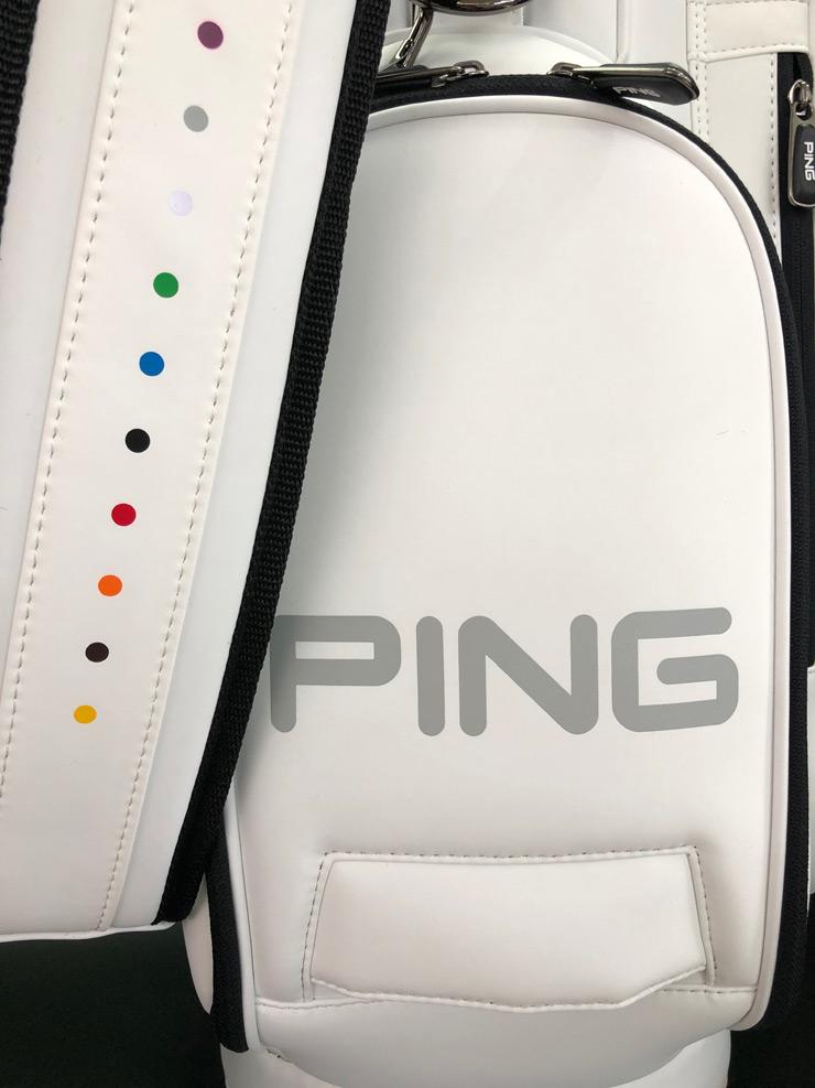 CB-C191ピンPINGゴルフキャディバッグ画像11