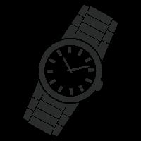 腕時計のサイズ調整無料