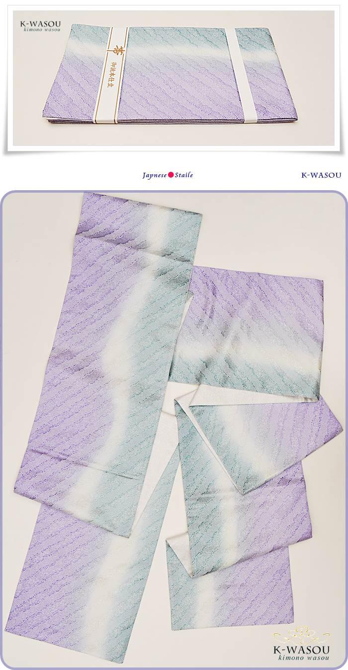おぼろ染め袋帯