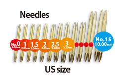 切替輪針用針先海外サイズ