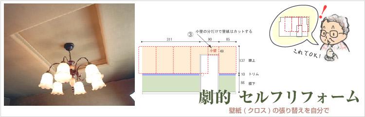 第3章 必要な壁紙(クロス)の計算方法(佐藤実家編)TOPイメージ