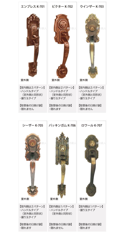 KODAI NEO k錠対応取替錠