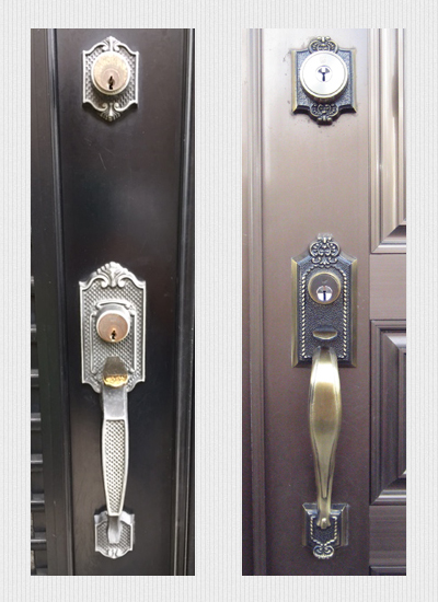 WEST サムラッチハンドル装飾錠