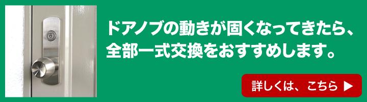 MIWA 85RA, 82RA用 丸ノブ