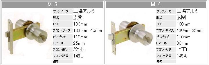 ドアノブ,M-3,M-4