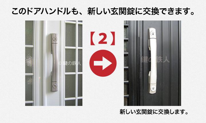 GOAL PXGとGOAL TDDの玄関錠(鍵)