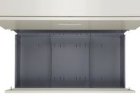 商品説明画像(KG45-410D:4段ラテラルキャビネット ニューグレー)