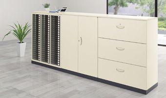 システム収納庫 設置例