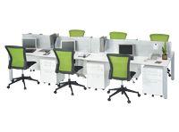 フリーアドレステーブル 設置例(IUTS-2112:フリーアドレステーブル)