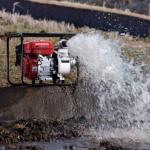 灌水・送水する