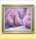絵画・角館の桜
