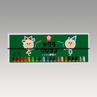 クレヨン太巻20色