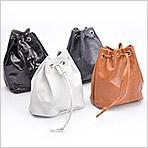 カンガルー革「巾着袋」(Sサイズ)