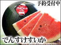 北海道高級西瓜、でんすけすいか