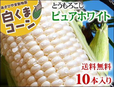 北海道産とうもろこしピュアホワイト