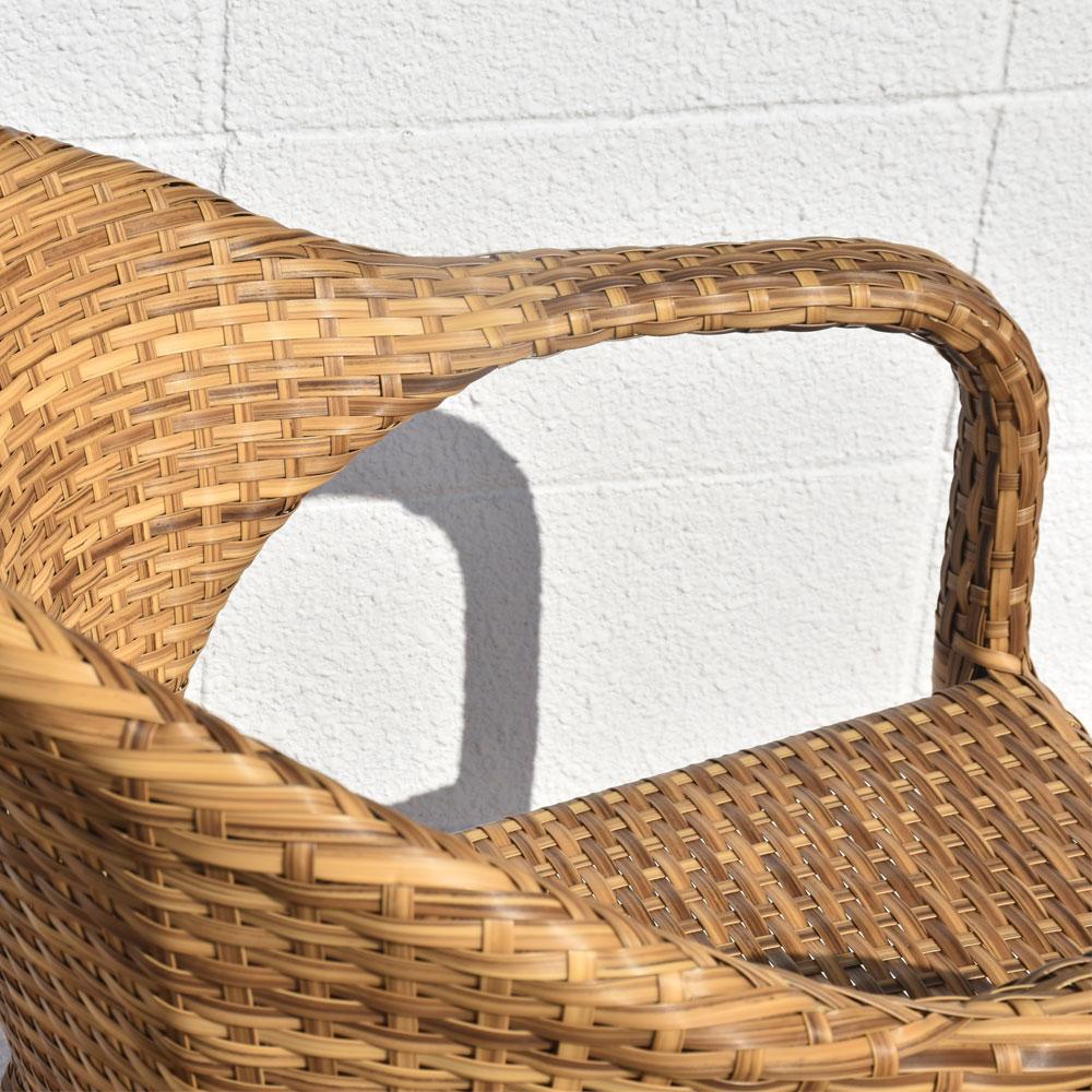 ガーデンチェア 2脚セット セット チェア チェアー いす 椅子 イス ダイニングチェア ガーデン テラス シンセティックラタン ガーデン家具 ガーデンファニチャー アウトドア 屋外 リゾート オシャレ おしゃれ 家具 バリ島 インテリア アジアン家具