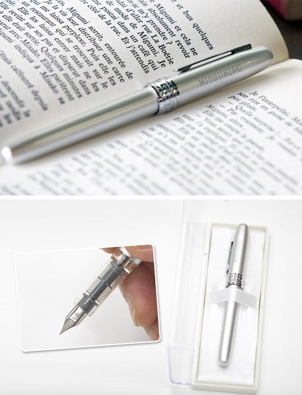 名入れ万年筆 プラチナの特徴