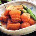 豚バラ肉の梅干し煮
