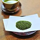 お寿司屋さんの粉茶