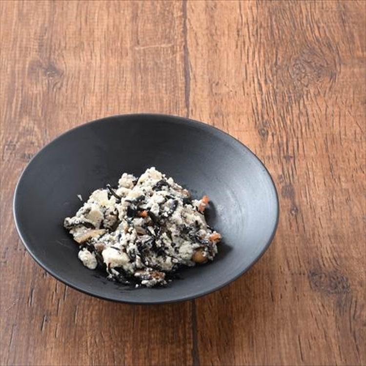 常滑焼 チャラ掛け 碗 15cm 白+貝