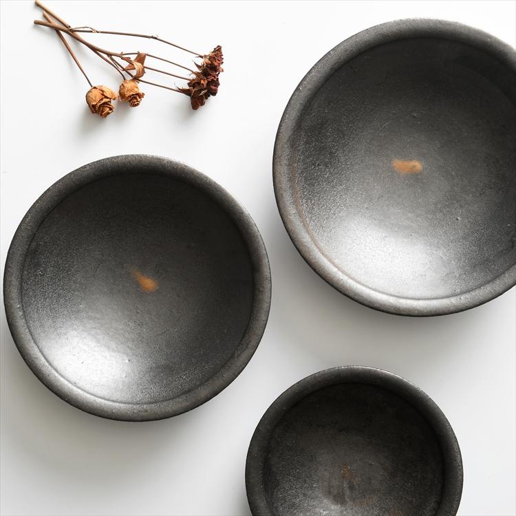 カレー皿3寸〜8寸 黒