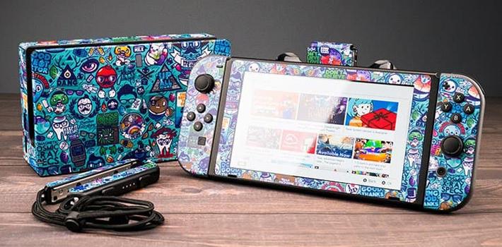 Nintendo Switch用 スキンシール販売開始!!