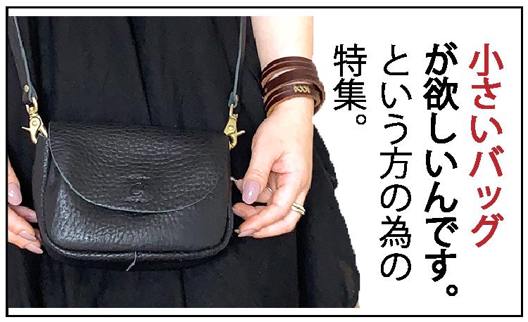 小さいバッグ、ミニバッグ