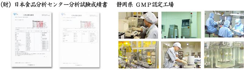 サプリメントGMP認定工場