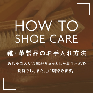 HOW TO SHOE CARE