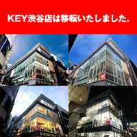 KEY渋谷店は神南へ移転いたしました。