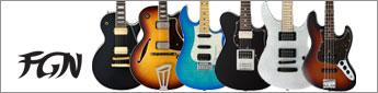 1960年創業、世界屈指のエレキギターメーカー、フジゲン。