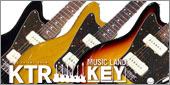 """日本が誇るギターマイスター高野順氏による、最初期JMサウンドを追求すべくフォームバーを使用し完全ハンドワインディングされた、このモデル専用カスタム""""JIVE MASTER""""ピックアップ搭載!KEY'STONE FS-STDブラスポストペグ採用 & CTSポット採用コントロール仕様のCrews Maniac Sound/K&T KTR JM with K&T CUSTOM JIVE MASTER。"""