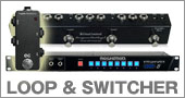 ���ե��������ܡ��ɡ����ơ��������ƥ�ˡ�EFFECT LOOP & SWITCHER �ý���