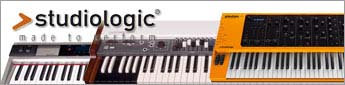 鍵盤製作を得意とするイタリアのFATAR社が自ら立ち上げたブランド、それがStudiologicです。すでに世界中のプレイヤーから愛され、支持を集めている名ブランドです。