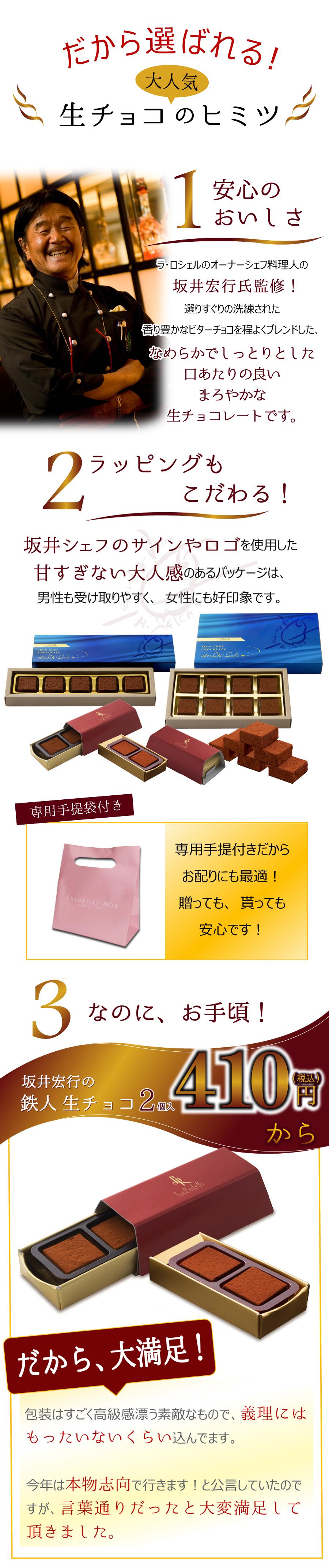 坂井宏行の鉄人生チョコ