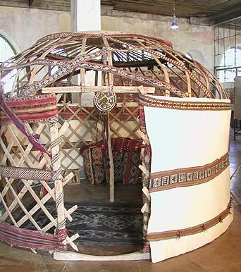 トルコ・遊牧民のテント