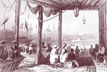 イスタンブール初のコーヒーショップ