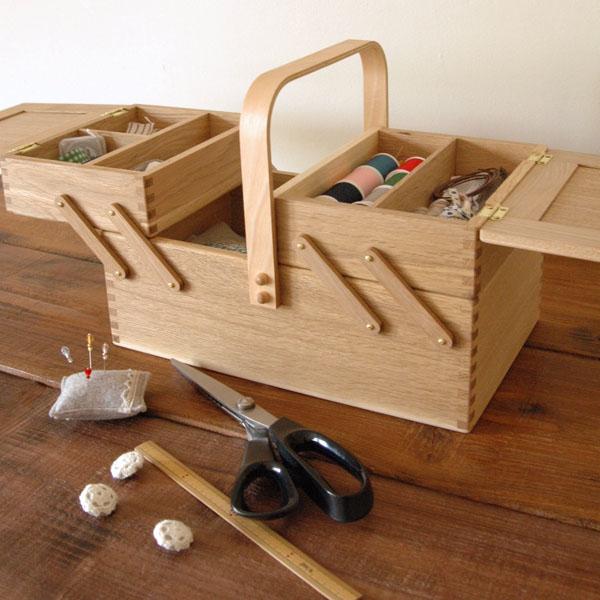 倉敷意匠 ならのソーイングボックス(裁縫箱)