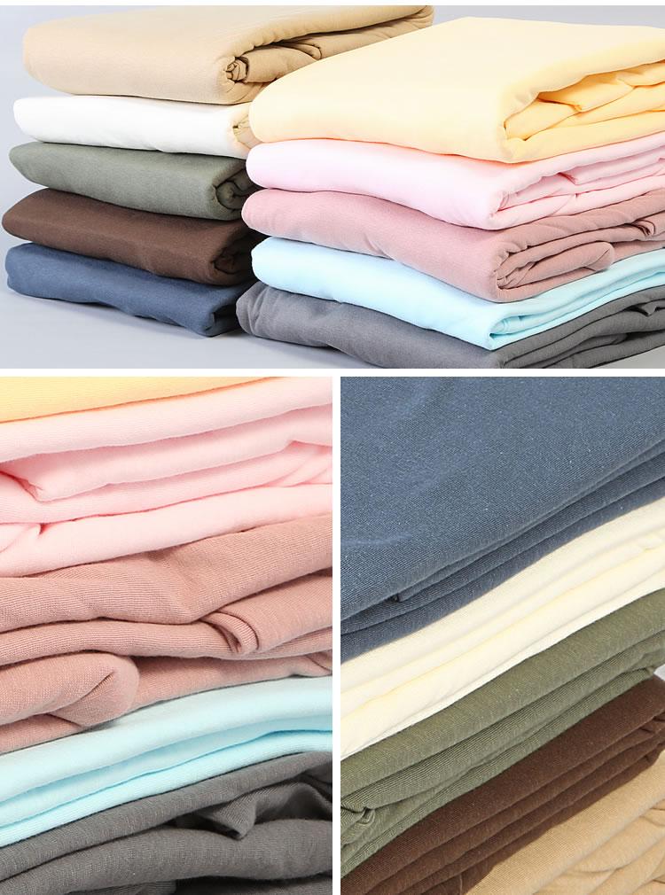 ャツのような肌触りのハイゲージ布団カバーシリーズ/綿100%Tシャツ生地/掛け布団カバー 掛布団カバー