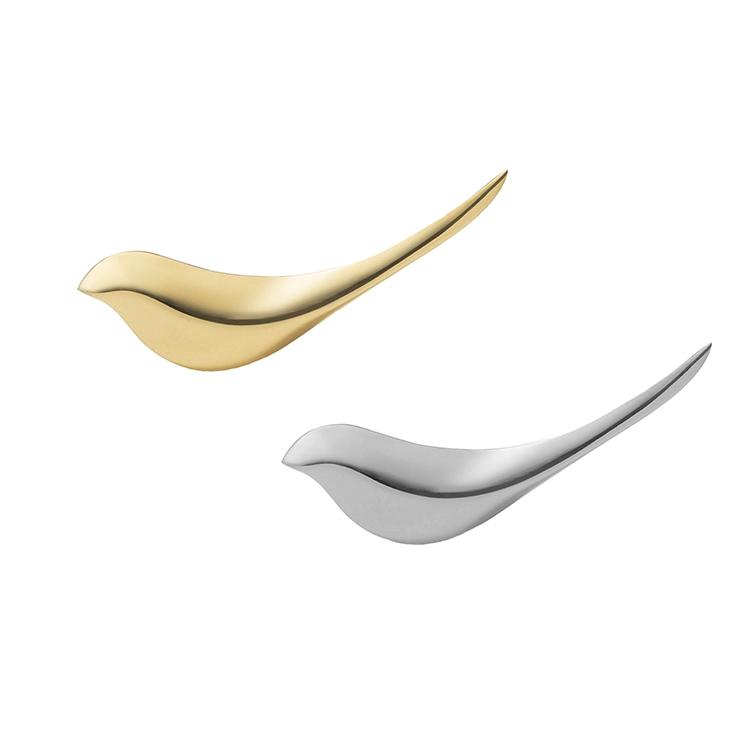 ぷらすでぃー  Birdie Paper Knife  バーディー ペーパーナイフ 真鍮  シルバー オブジェ とり ことり