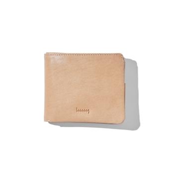 hmny casual NT 財布 エヌティー ルボア 革 エイチエムエヌワイ 二つ折り財布 えいちえむえぬわい ナチュラル