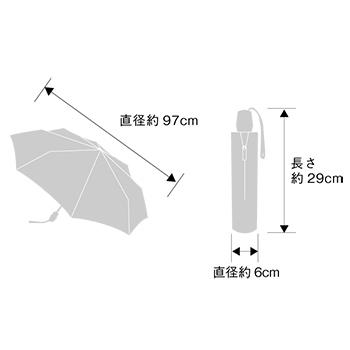 クニルプス リフレクター 反射 傘 折りたたみ 視認 アッシュコンセプト
