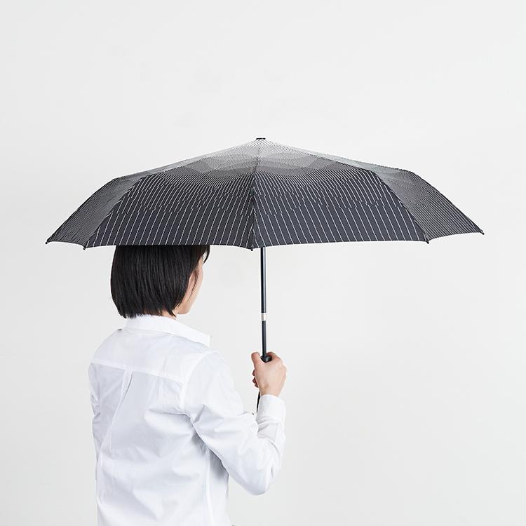Knirps NUNO  くにるぷす ぬの のうむ しろくろ モダン 折り畳み傘 すどうれいこ
