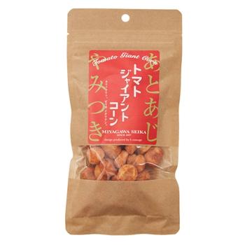 トマトジャイアントコーン お菓子 昔ながら お菓子作り 下町 宮川製菓 懐かし