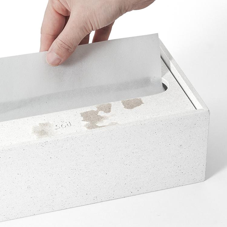 soil 珪藻土 GEM ペーパータオル ボックス 吸水