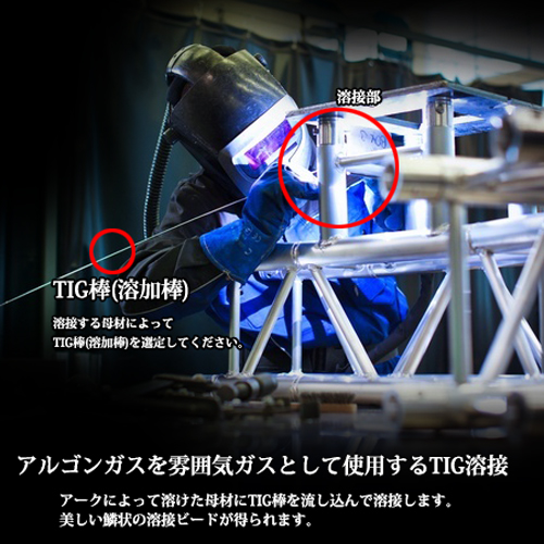TIG溶接用溶加棒 NS-308R 2.0mm 5kg 通常梱包(ニッコー/ニツコー熔材/NIKKO/日亜溶接棒)TIG溶接画像