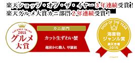 楽天ショップ・オブ・ザ・イヤー受賞