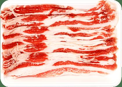 スペイン産イベリコ豚バラスライス