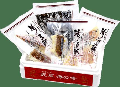 鯛のお刺身セット贅沢4種