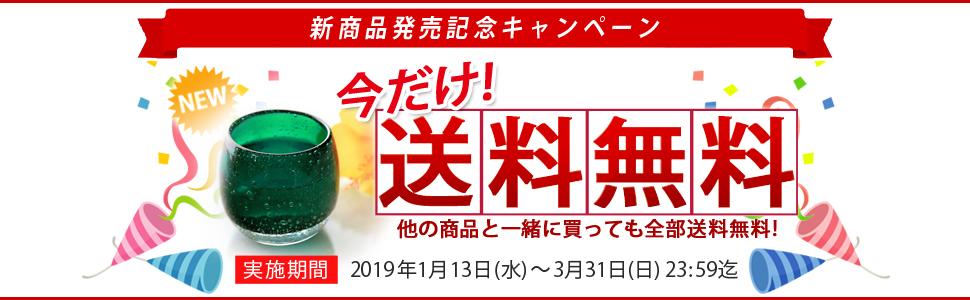 新商品発売記念キャンペーン 今だけ!送料無料
